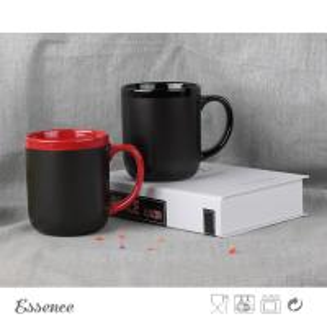 Buy cheap Ceramic Chalk Coffee Mug , Promotional Corporate Logo Coffee Mugs 15 OZ product