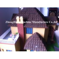 Buy cheap PPGI Color Stone Coated Roof Tile Machine Steel Roofing Sheet Making Machine product