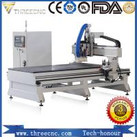 China China manufacturer CNC router automatic tools changer machine for Furniture production TM1325D. THREECNC on sale