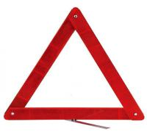 Дорожные знаки материальной безопасности ДЖД5018 ПС отражательные предупреждающие, треугольник 41,5 * 41,5 * 41.5мм