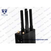Buy cheap Selectable Handheld All GSM CDMA 3G 4G LTE Mobile Phone Signal Jammer product