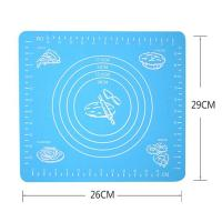 China Kitchen Large Chopping Board Baking Professional Non-Stick  Kneading Dough Silicone Baking Mat For Cake Cookie Macaron on sale
