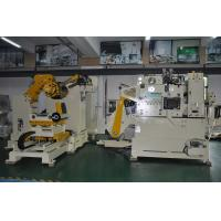 Buy cheap Automatic 3 In 1 Feeder Flattening Stamping Equipment CE And ISO Certification product