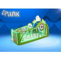 Buy cheap 2 Players Big Big Socce Coin Operated Arcade Machines  For Movie Theater product