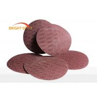 China 60# - 600# Hook And Loop Sanding Discs Aluminium Oxide Waterproof Max 9 Inch on sale