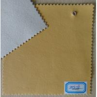 China Thickness 0.9mm PU Leather Cloth Yellow Color for Home Textile, Bag, Sofa, Shoes on sale