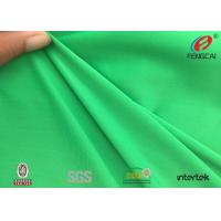 Buy cheap Green Jacquard Knitted Polyester Spandex Fabric Sportswear Material UV Resistant product