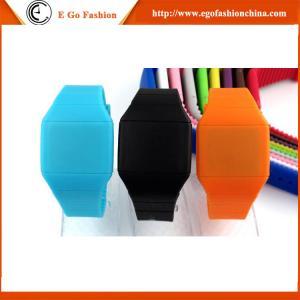 Buy cheap LEDの腕時計のタッチ画面LEDの男女兼用軽い男女兼用の腕時計によってカスタマイズされるロゴ キャンデーのスポーツの腕時計 product