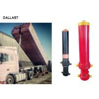 Buy cheap 3 Stage Single Acting Telescopic Cylinder , Hydraulic Lift Cylinder For Dump Truck product