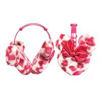 Minnie Mouse Leopard earmuff