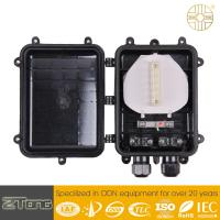 External Fiber Optic Connection Box , Aerial Fosc Closure With 2 Round Ports for sale