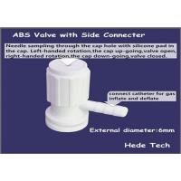 Buy cheap ABS  valve with side connector  Gas Sampling Bag product