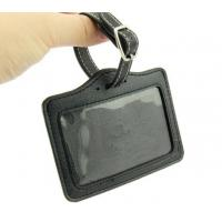 Buy cheap Personalised Luggage Bag Tags PU Leather Made For Personal / Business Travel product
