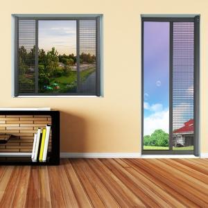 China Anti Mosquito Single open Retractable roller screen for window & door on sale
