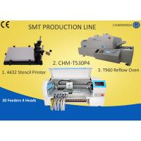 Buy cheap Manual SMT Production Line Solder Paste Stencil Printer , PCB Assembly Line from wholesalers