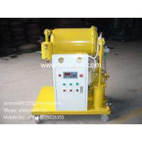 Buy cheap High Efficient Vacuum Single Stage Dielectric Oil Purifier | dielectric oil filtering unit product