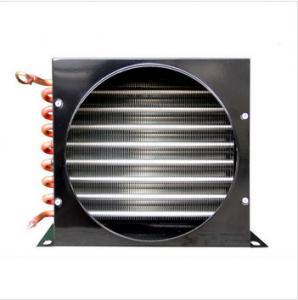 Buy cheap 2.5HP空気によって冷却されるコンデンサー、凝縮の単位のための冷凍の熱交換のコンデンサーのコイル product