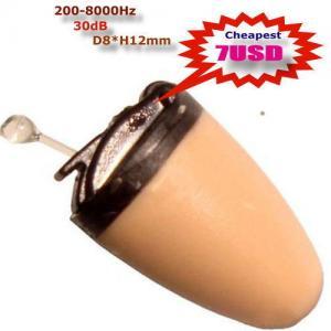Buy cheap 昇進黒い色A680の無線受話口のマイクロ秘密の小型イヤホーン product