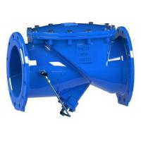 Buy cheap RDCS Ductile Iron Swing Check Valve Hydraulic Cushion Double Flange Design from wholesalers