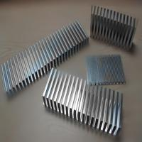 Quality OEM anodizing aluminum fin heat sink of Heat Exchange Parts for sale