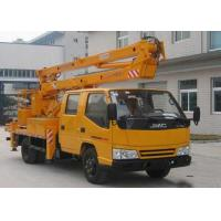 China JMC 4x2 Hydraulic High Altitude Operation Truck With Platform 12m ~ 18m Height on sale
