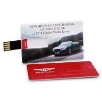 Buy cheap Credit Business Card USB Drive Flash Drive Memory Stick 4GB-32GB Colorful Print product