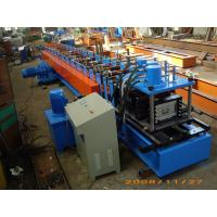 Buy cheap Gray Color Fully Automatic 13 Stations C Purlin Channel Steel Roll Forming Machine 12m / min from wholesalers