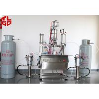 Quality Semi-automatic under cap vacuum filling machines, Freon Gas Filling Equipments for sale