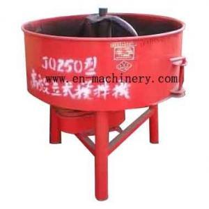 Pequeño tipo maquinaria de la cacerola de construcción de la máquina JQ250 del cemento de la máquina del mezclador concreto