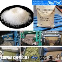 Buy cheap Zetag 4120 Equivalent Anionic Polyelectrolyte Flocculants For Flotation Dewatering and Water Treatment product