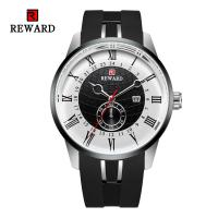 Buy cheap Alloy Sporty Mens Watches , Durable Mens Bracelet Watches With Silicone Strap product