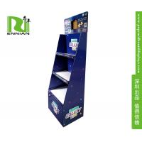 China Children Learning Game Cardboard Floor Displays , Cardboard Product Display With Lcd Window on sale