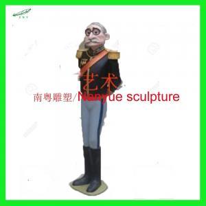life size frozen character cartoon statue  fiberglass colorful design  as decoration in park