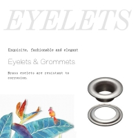 Buy cheap Sliver Metal Grommets Eyelets & Washer product