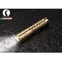 Buy cheap Waterproof Everyday Carry Flashlight Brass Material Good Heat Dissipation product