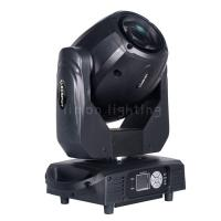 Buy cheap New Design Double Prisms LCD Display 150W White LED Rotating Gobo Moving Head Spot Light product