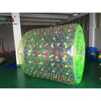 China Swimming Pool Inflatable Water Rolling Toy , Fire Resistance PVC / TPU Water Roller on sale