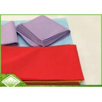 45gsm TNT SpunBonded Non Woven Table Cloth Recyclable Eco Friendly 1m X 1m