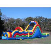 Buy cheap Big Inflatable Obstacle Course Bounce House For Outdoor Game 2 Years Warranty from wholesalers