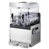 Buy cheap Commercial Stainless Steel Ice / Snow Slush Machine Double Heads 15L product