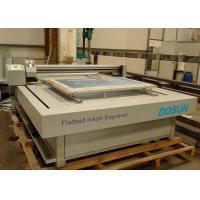 Buy cheap Flat-bed Textile Engraving Machine 6 - 8 Min./m² , High Speed Flatbed Inkjet Engraver from wholesalers