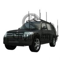 Buy cheap High Power DDS Convoy Bomb Jammer Protection Roof Mounted Jamming System Black product