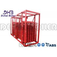 Buy cheap Red Bare Tube Type Optimize Economiser Coil Design For High Performance product