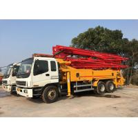 China Old Putzmeister 36m Used Concrete Pump Truck with Isuzu Chassis Excellent Condition on sale