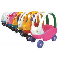 Buy cheap Colourful Kids Indoor Active Play Equipment Equipment Foot To Floor , Toy Car Plastic product