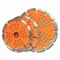 Buy cheap Saw Blade with Combination of Two Different Segments in Single Blade, Available in Various Diameters product
