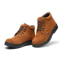 China Anti Prick Work Safety Shoes Lightweight Steel Toe Shoes For Working Protection on sale