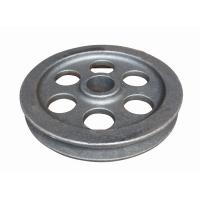 China Machine wheel part  ductile iron casting parts according to drawing on sale
