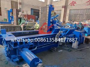 Buy cheap WANSHIDA Scrap Metal Baler Aluminum Baling press Compactor Machine Max. 3mm Thickness 1200-1500KG/h product