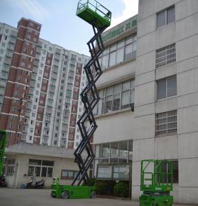 Buy cheap 13,8 mètres d'ascenseur autopropulsé élevé électrique de ciseaux avec la plate-forme d'extension, 320Kg product